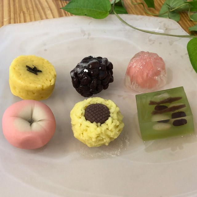 夏の上生菓子