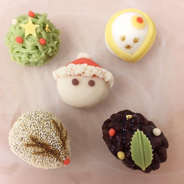 クリスマスの上生菓子