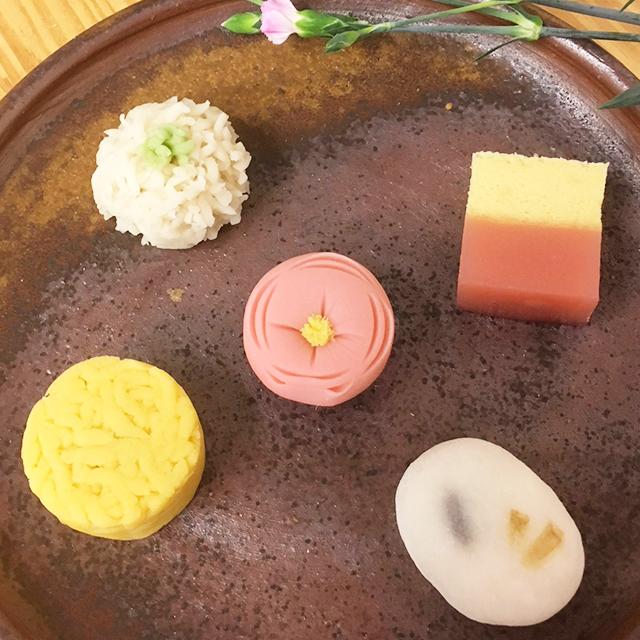 早春の上生菓子