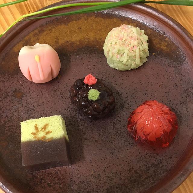 初夏の上生菓子